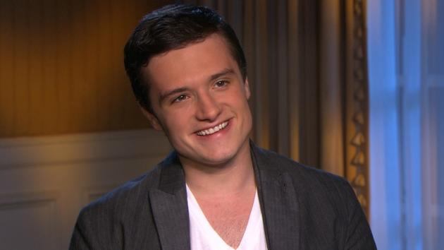 Josh Hutcherson chats with Access Hollywood at 'The Hunger Games' junket in Los Angeles on March 3, 2012 -- Access Hollywood