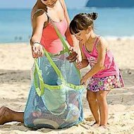 Sand Away Beach Bag; $15