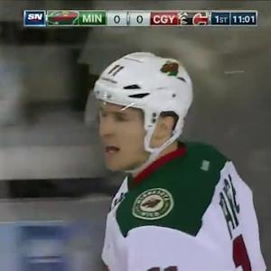 Minnesota Wild at Calgary Flames - 01/29/2015