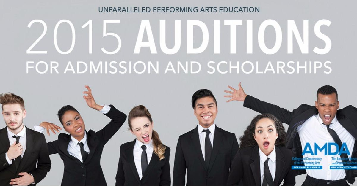 Stage Your Future in the Performing Arts