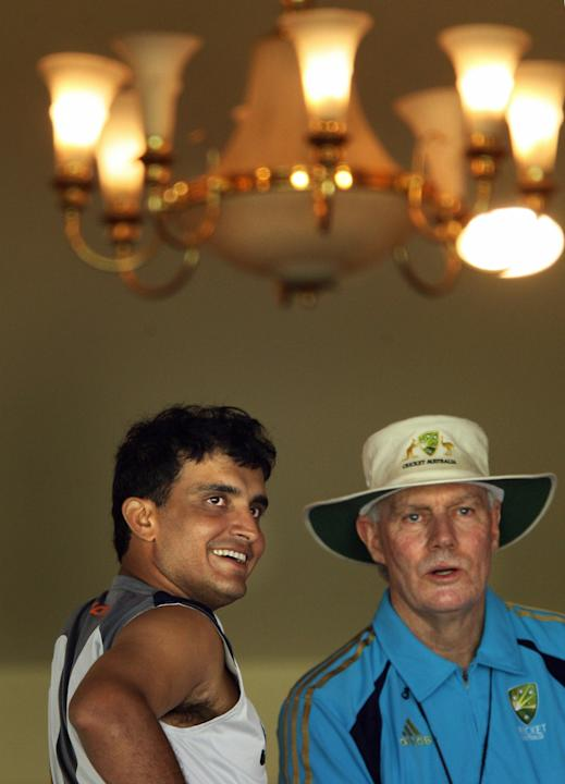 Greg Chappell Vs Sourav Ganguly