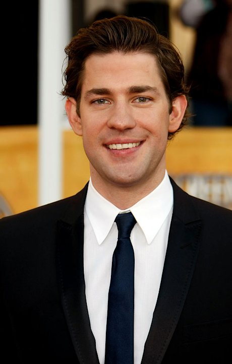 John Krasinski arrives at the 15th Annual Screen Actors Guild Awards held at the Shrine Auditorium on January 25, 2009 in Los Angeles, California.