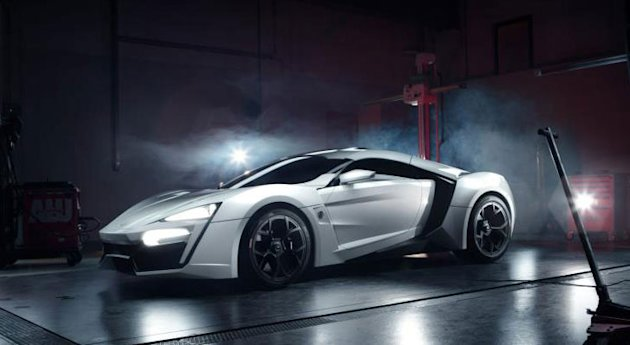 Middle East's first supercar to cost $3.4 Million