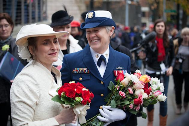 Same-Sex Couples Legally Wed in Seattle