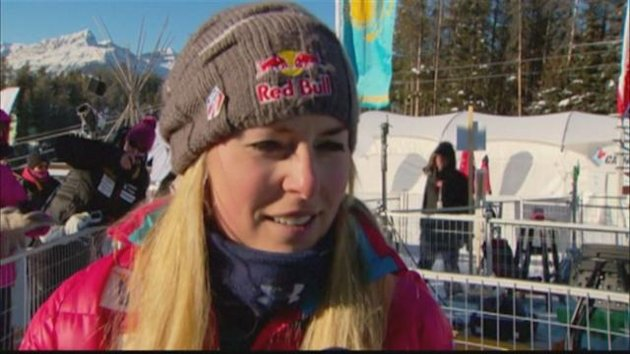 Alpine Skiing - Lindsey Vonn returns to the ski slopes