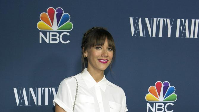 """Actress Jones from the television series """"A to Z"""" poses at NBC and Vanity Fair's 2014-2015 television season event in Los Angeles"""