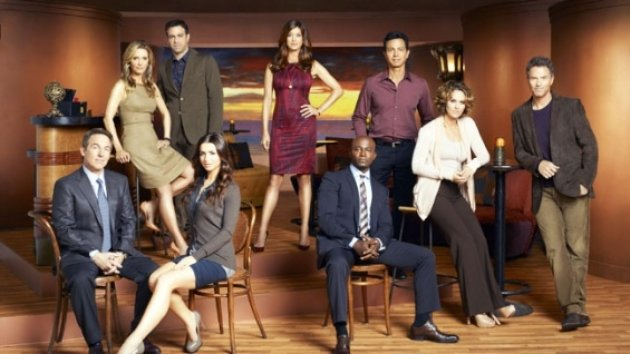The cast of &#39;Private Practice&#39; Season 6 -- ABC