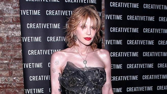 Courtney Love Creative Time Gala