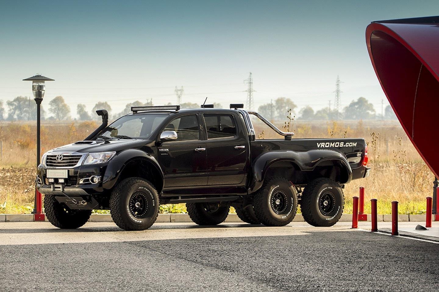Toyota's Indestructible Hilux Gets Third Axle for Serious Off-Road Fury