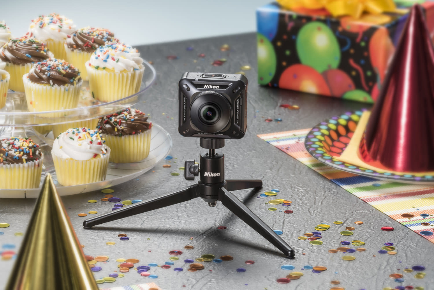 Nikon KeyMission 360 cams will live-stream the presidential inauguration