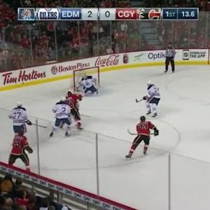 Ben Scrivens Save on Paul Byron (19:48/1st)