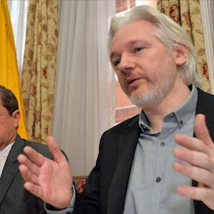 WikiLeaks' Assange Says Human Rights Have Been Breached