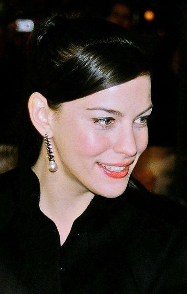 Actress Liv Tyler in 2003