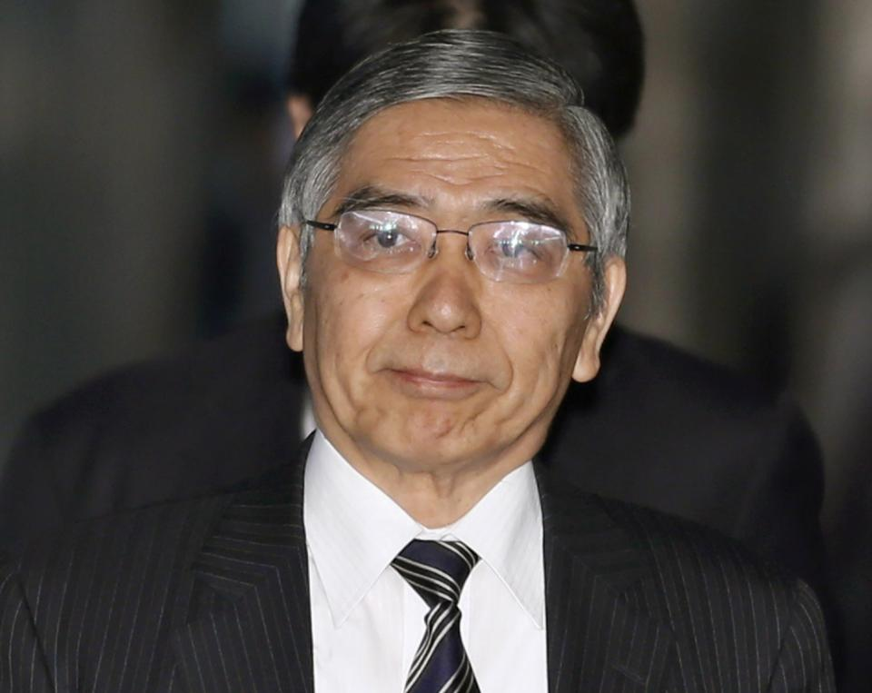 Japan's parliament clears Kuroda to head BOJ