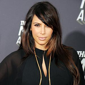 Kim Kardashian Is Growing Out Her Bangs: How to Get Her MTV Movie Awards Hairstyle