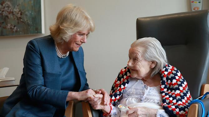 The Duchess Of Cornwall Visits The Royal Trinity Hospice