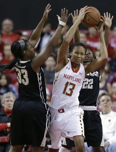 No. 9 Maryland women cruise past Wake Forest