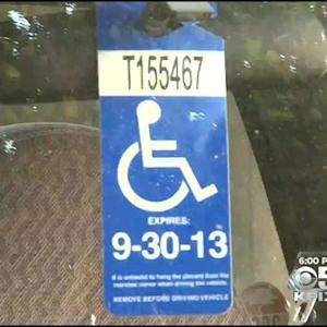 SF Cracks Down On Disabled Parking Fraud