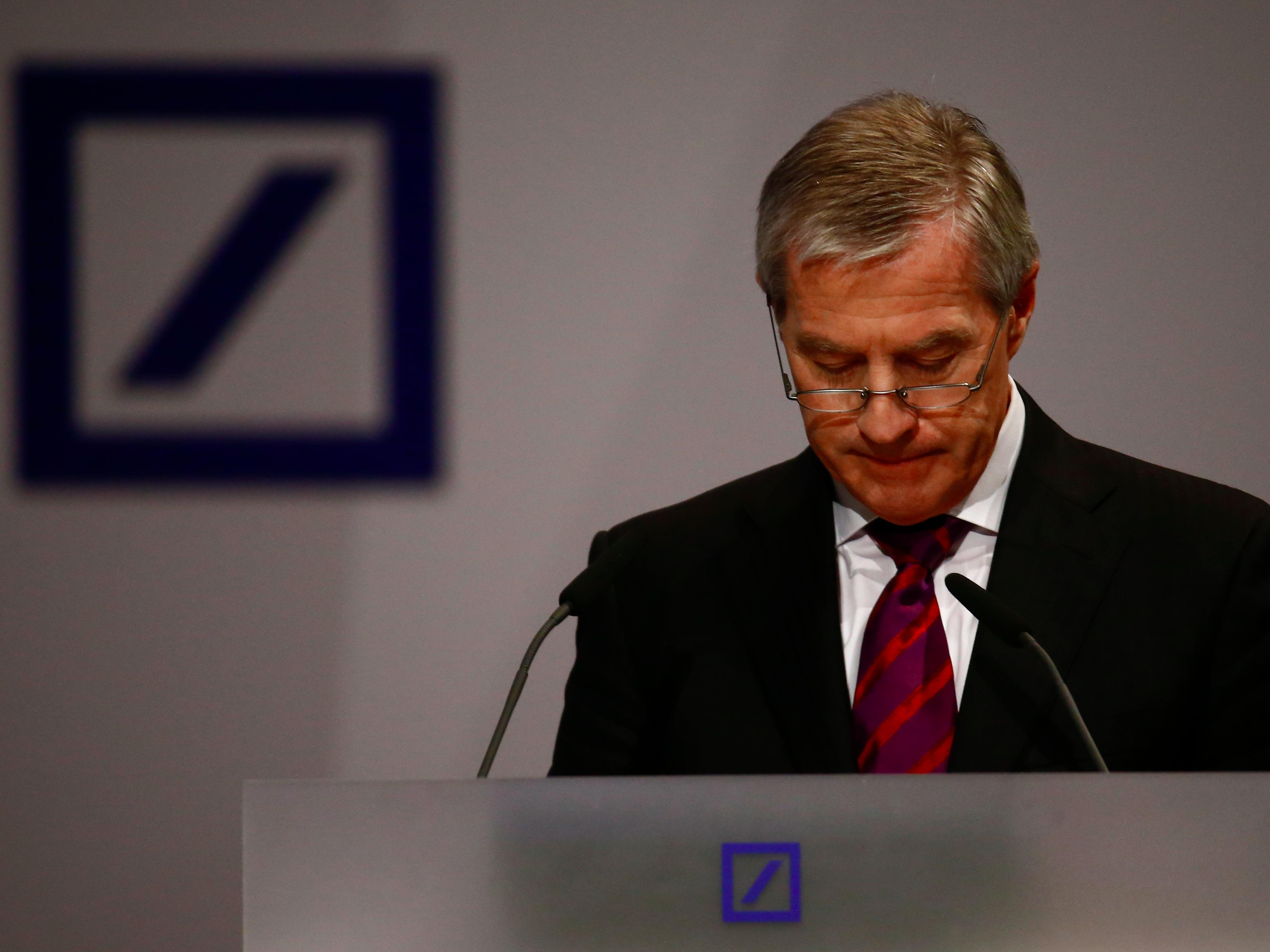 Deutsche Bank is at a record low and investors are once again scared of European banks
