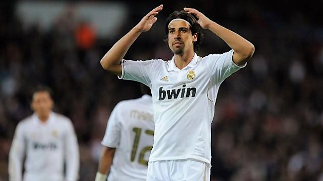 FOOTBALL Khedira Real Madrid 2012