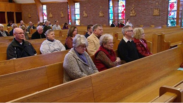 Boston church parishioners …