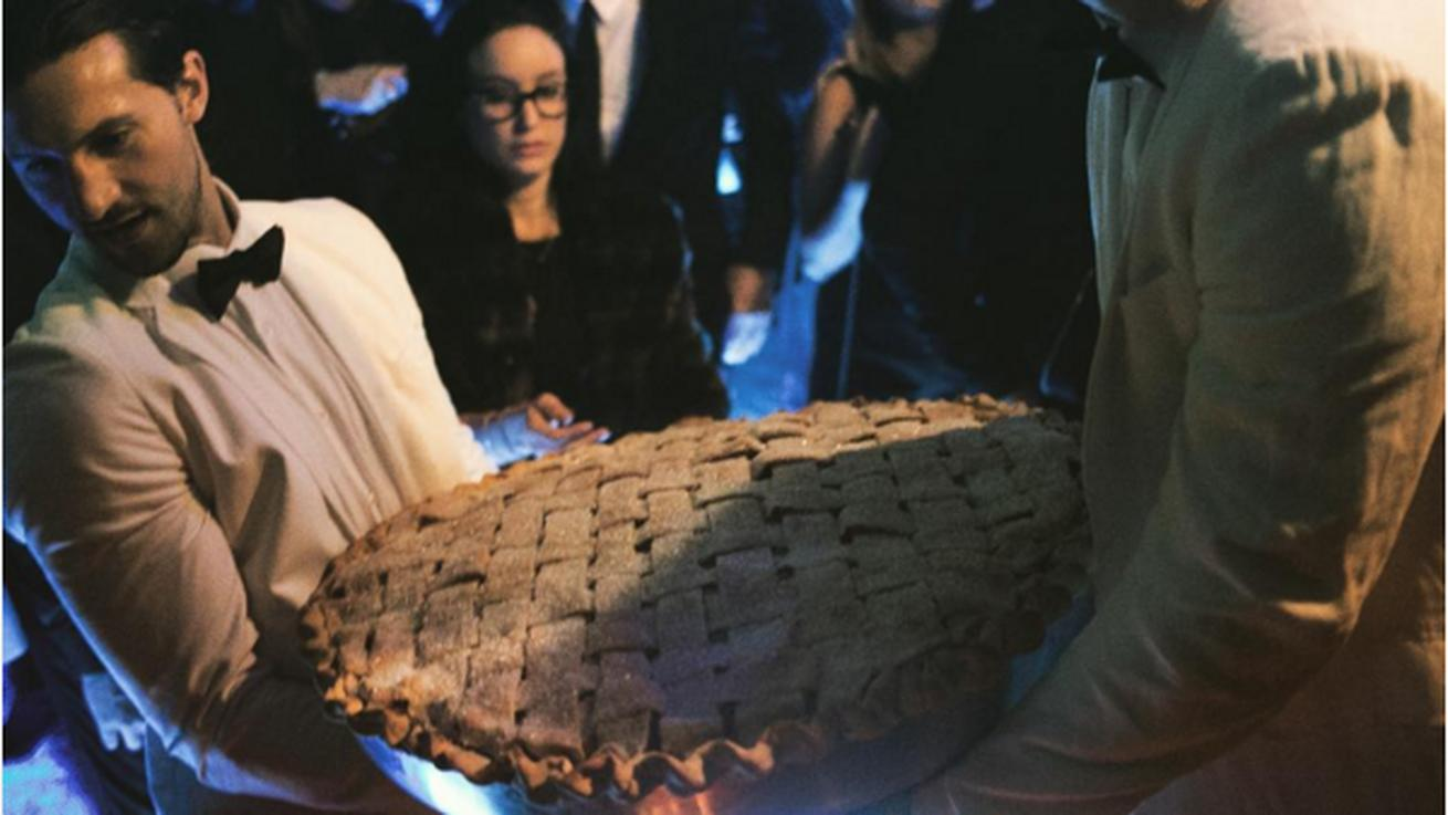 Forget the Cake, Diddy Prefers a Giant Apple Pie on His Birthday