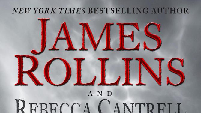 """This book cover image released by William Morrow shows """"The Blood Gospel,"""" by James Rollins and Rebecca Cantrell. (AP Photo/William Morrow)"""