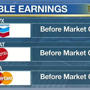 Chevron Earnings, GDP: What to Watch on Wall Street for Jan. 30