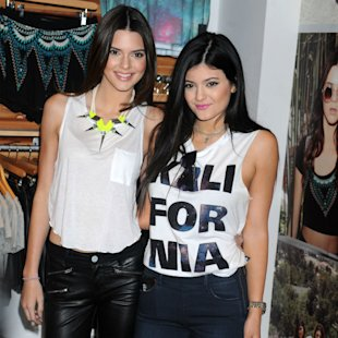 PHOTOS: Kendall And Kylie Jenner All Grown Up In Beach Snaps