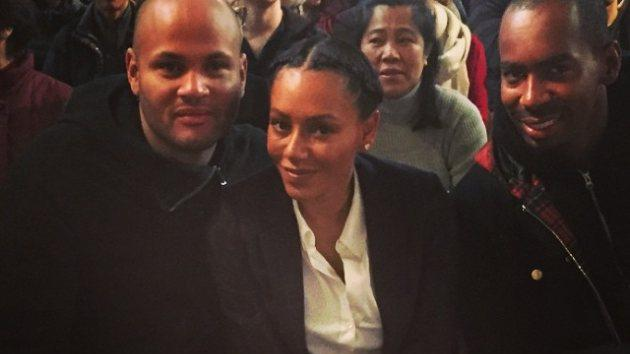 Mel B Instagrammed this photo with husband Stephen Belafonte on December 28, 2014 -- Instagram
