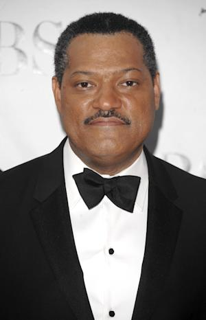 """FILE - In this June 15, 2008 file photo, actor Laurence Fishburne arrives at the 62nd Annual Tony Awards in New York. Fishburne is the narrator for a 2012 PBS documentary, """"Slavery by Another Name."""" (AP Photo/Peter Kramer, file )"""