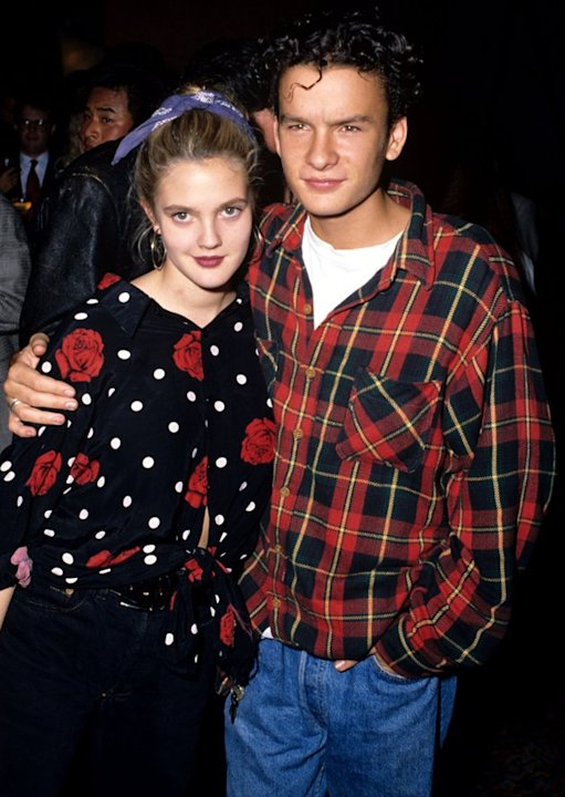 Drew Barrymore Balthazar Getty
