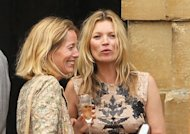 Mariage de Jade Jagger : sa copine Kate Moss rpond prsente