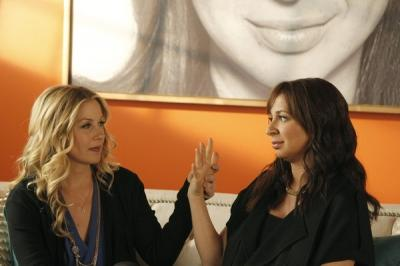 "Christina Applegate and Maya Rudolph on NBC's ""Up All Night"" -- NBC"
