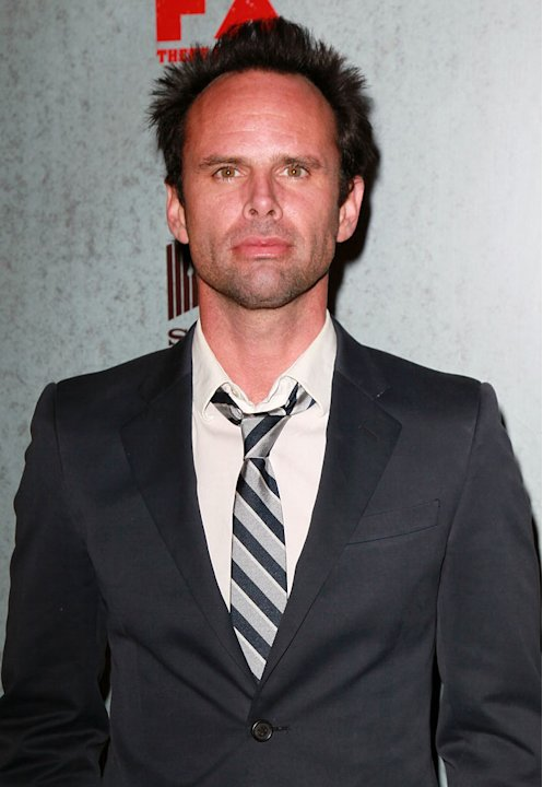 "Walton Goggins attends the Season 3 premiere of FX's ""Justified"" at the Directors Guild on January 10, 2012 in Los Angeles, California."