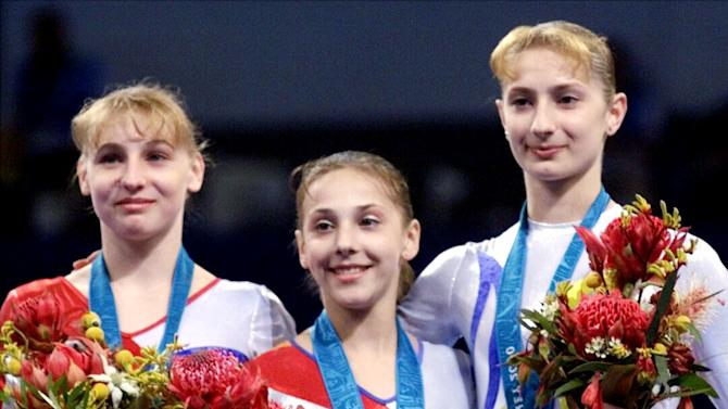 Romanian gymnasts