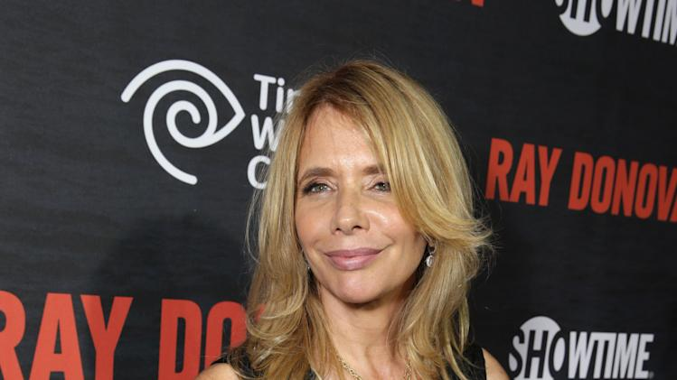 Rosanna Arquette pictured at SHOWTIME and Time Warner Cable's Ray Donovan Season 2 premiere on Wednesday, July 9 at Nobu in Malibu, Calif. (Photo by Eric Charbonneau/Invision for Showtime/AP Images)