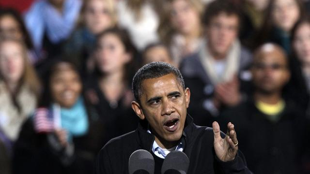 Young Voters Come Through For Obama Again
