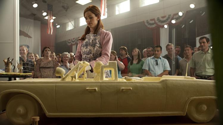 "This image released by RADIUS-TWC shows Jennifer Garner in a scene from the film, ""Butter."" (AP Photo/RADIUS-TWC)"