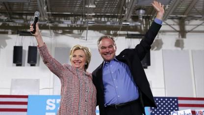 Self Described 'Boring' Tim Kaine Tapped To be Clinton's VP Nominee