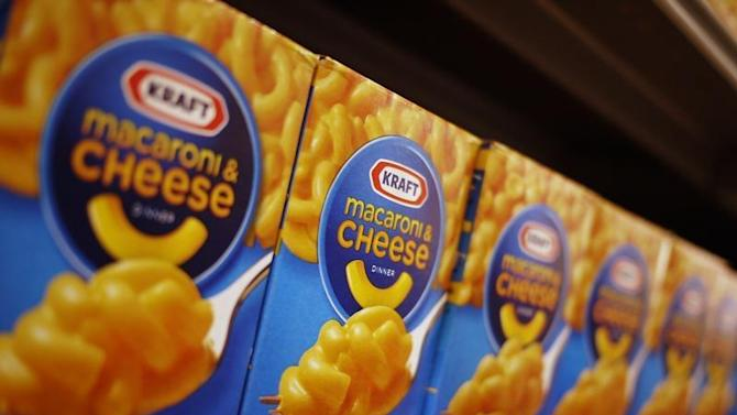 Kraft macaroni and cheese products on the shelf at a grocery store in Washington