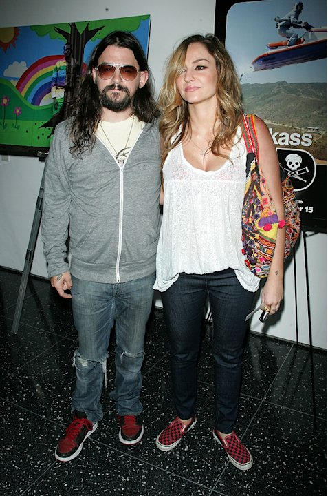 Jackass 3D NYC Premiere 2010 Drea De Matteo Shooter Jennings