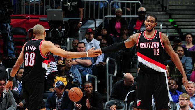 Aldridge has 25, Trail Blazers top Hawks 100-85
