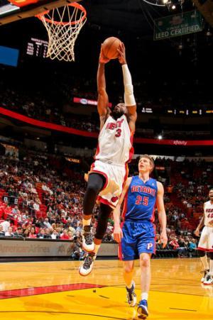 Wade leads Heat past Pistons 110-88