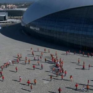 Russia marks 100 days to Sochi Olympics