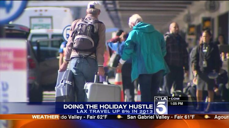 2.6M Passengers Expected at LAX During Holiday Travel Season