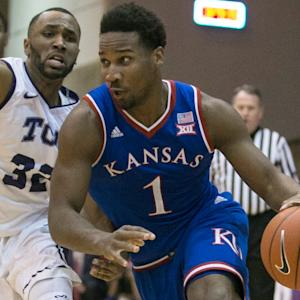 Jayhawks' Wayne Selden Jr. Shows His Strength With a Powerful Putback Dunk