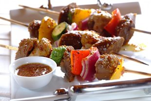 Sarah Duff's vegetarian braai kebabs recipe, National Braai Day