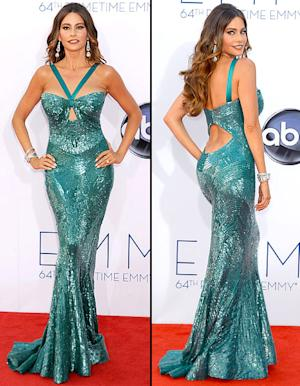 Sofia Vergara Suffered Wardrobe Malfunction at Emmys