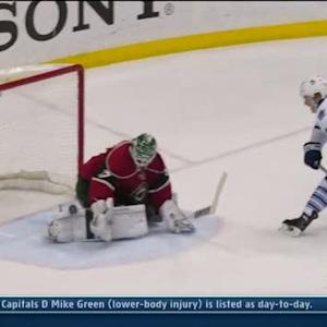 Josh Harding robs Morgan Rielly in OT